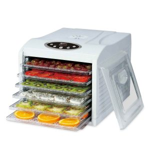Check out this food dehydrator buyer's guide for invaluable tips on picking out the best models.