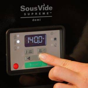 SousVide Supreme Demi temperature controls