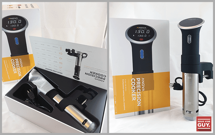 Unboxing the Anova sous vide