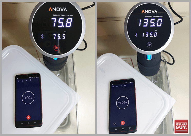 Anova temperature test