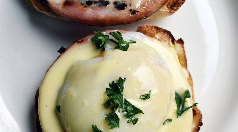 sous vide eggs benedict recipe