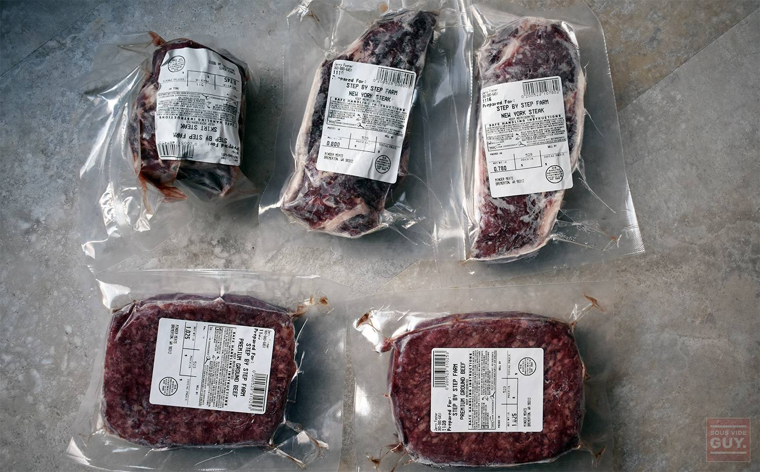 The meat I received from Crowd Cow