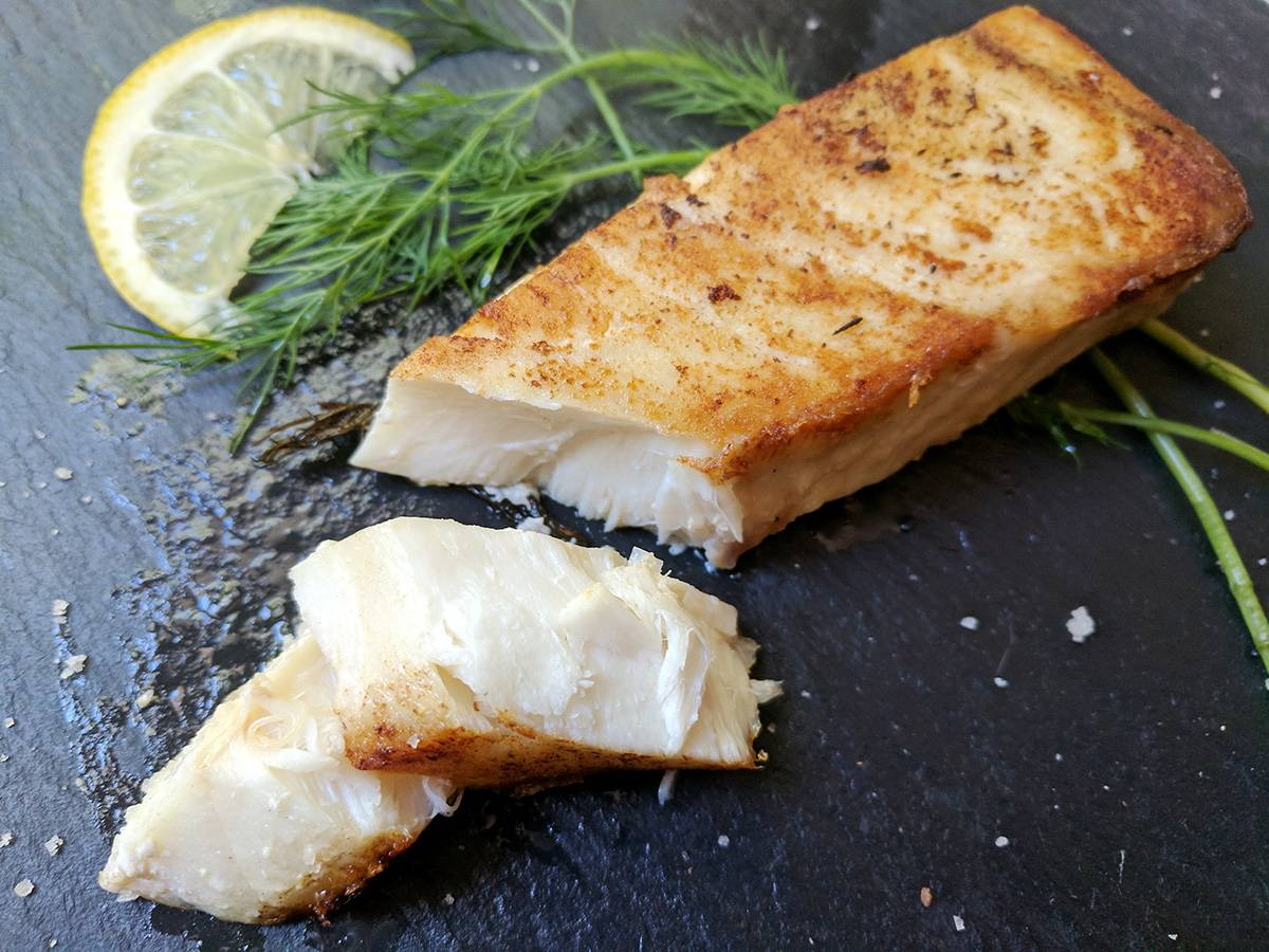 Omaha Steak halibut