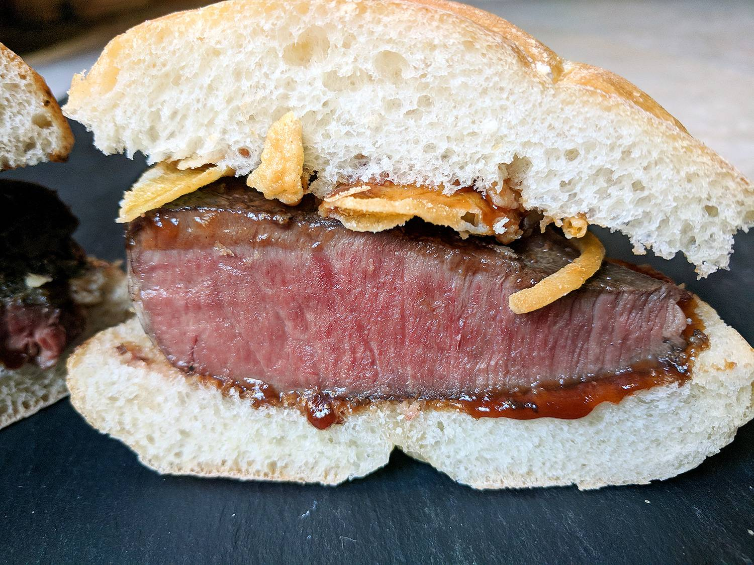 How to make an arby s venison sandwich sous vide guy for Arby s fish sandwich