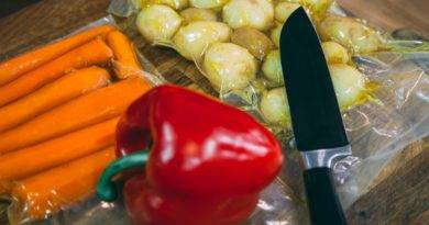 Veggies prepared sous vide are full of flavor, have amazing texture, and melt in your mouth.