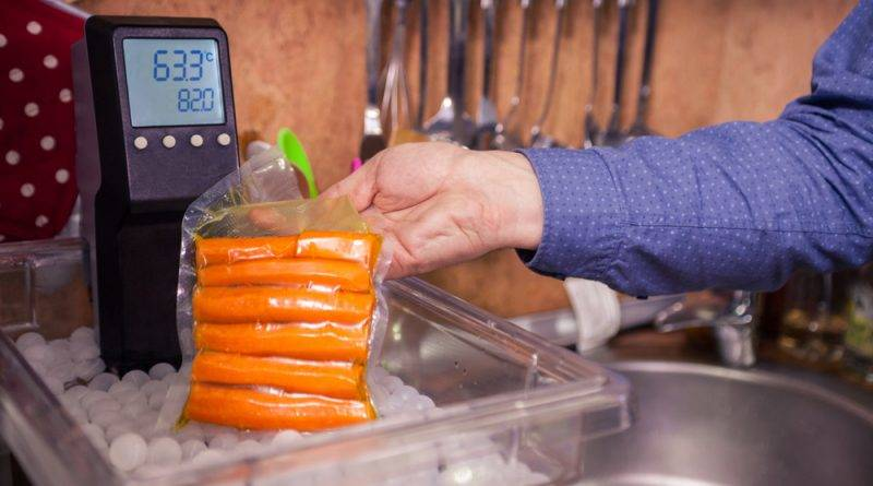 Carrots become mouth-melting tender and full of flavor when prepared in a sous vide oven.