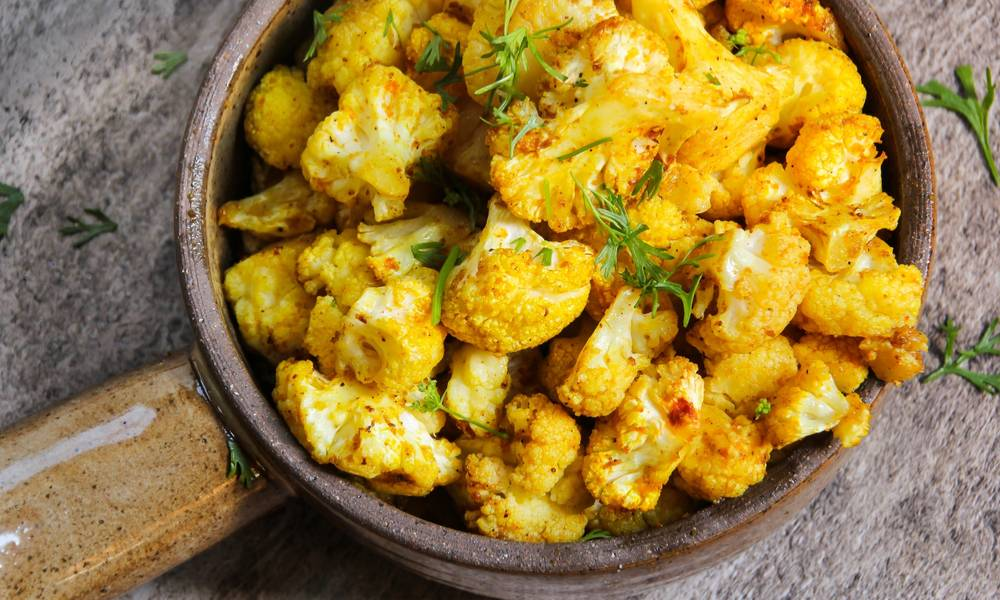 The exciting mix of spices make sous vide Asian cauliflower a dish you'll include in your regular menu.