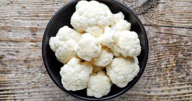 Studies suggest that cooking cauliflower sous vide will preserve more vitamins than any other method of cooking.