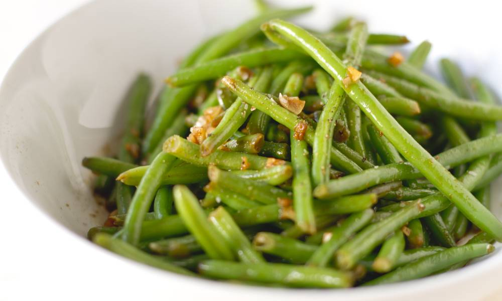 Szechuan style sous vide green beans are the perfect combination of intense flavor and amazing texture.