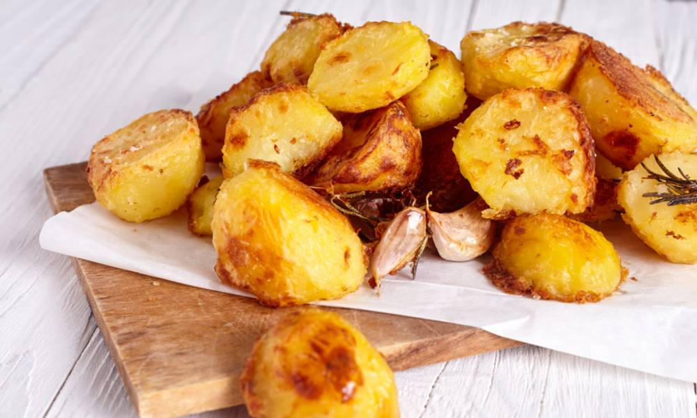 Sous vide roasted potatoes are bound to become a staple in your family's dinner menu.