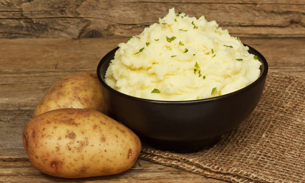 Sous vide mashed potatoes are out of this world fluffy and creamy- a star dish for the holiday menu.