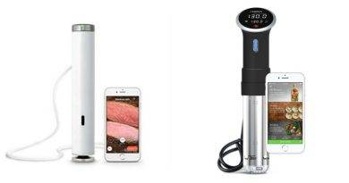 Two of the hottest circulators on the sous vide market right now are the ChefSteps Joule and the Anova Precision Cooker.