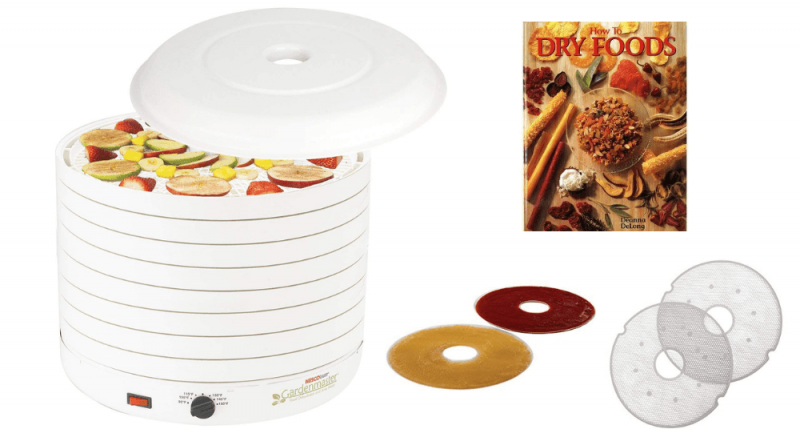 The Nesco FD-1018A Gardenmaster Dehydrator offers great value for money.