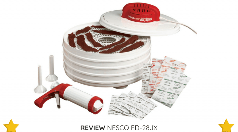 Another great thing about the NESCO FD-28JX is that it's easy to clean and store away when needed.