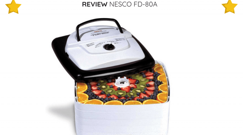 Let's take a look at what makes NESCO FD-80A great and what are some of its potential downsides.