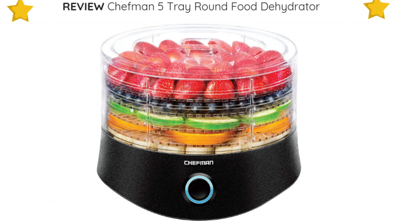 For undemanding, small-scale users, the Chefman 5 Tray Round Food Dehydrator is a perfect match.