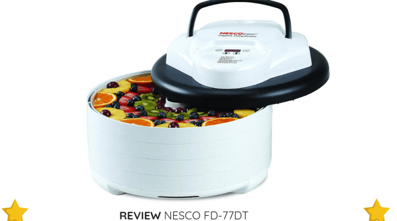 The NESCO FD-77DT is easy to use and can be a great choice for dehydrating pros and newbies alike.