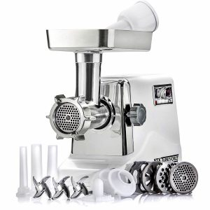 Top 7 Father's Day Gifts for Dads Who Love Jerky: The STX International Turboforce 3 Speed Electric Meat Grinder