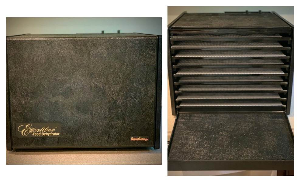 The Excalibur 3926TB is a large dehydrator