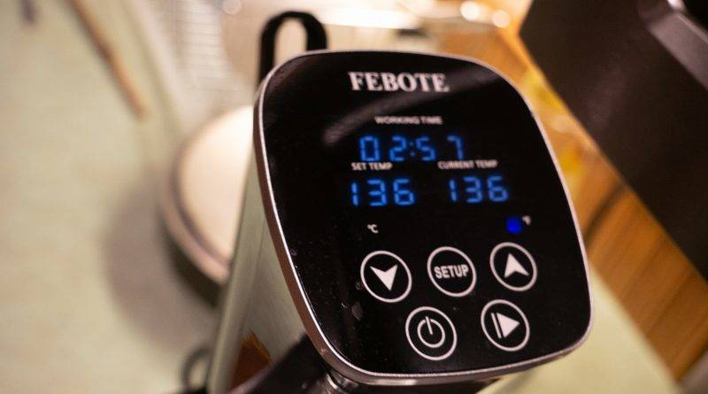 Review: Febote 1000 W Sous Vide Cooker